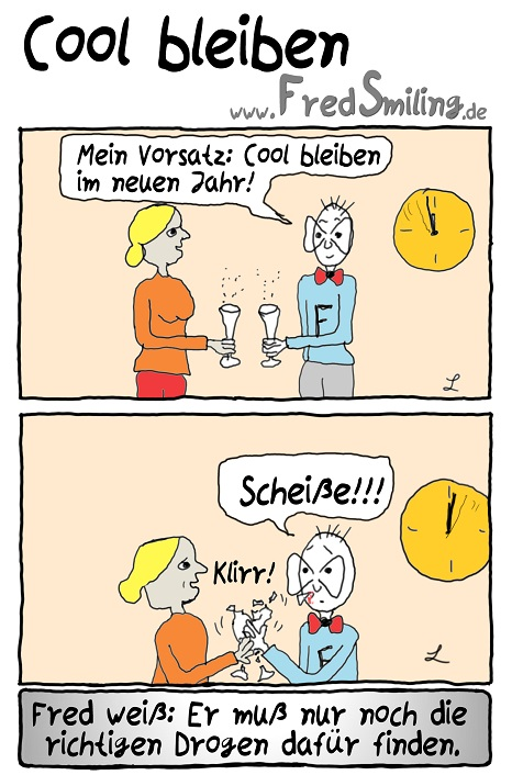 Fredsmiling Cool Bleiben Fredsmiling Comics