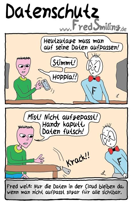 FredSmiling Comic Spass datenschutz