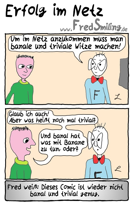 FredSmiling Comic Spass erfolg-im-netz