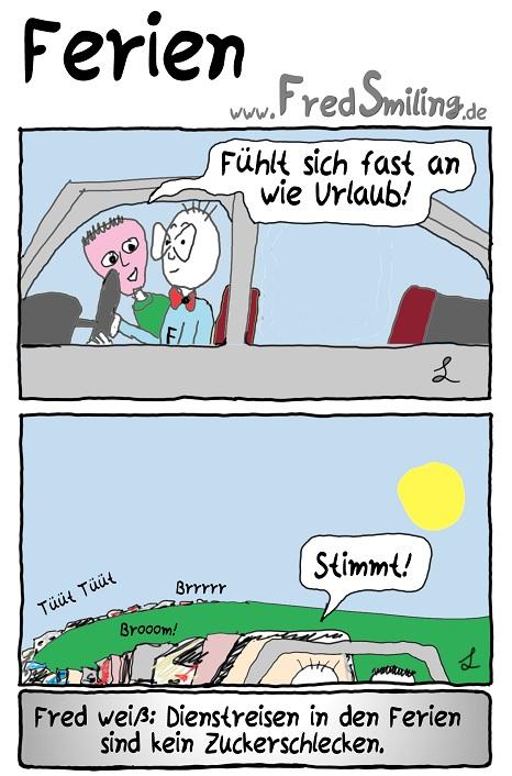 FredSmiling Comic Spass ferien
