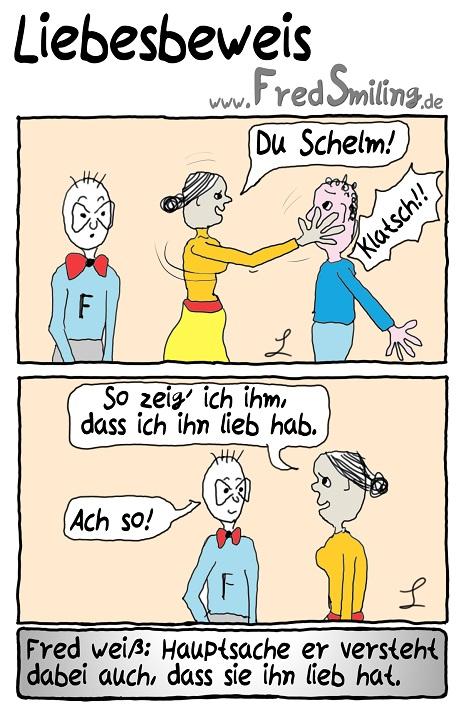 FredSmiling Comic Spass liebesbeweis