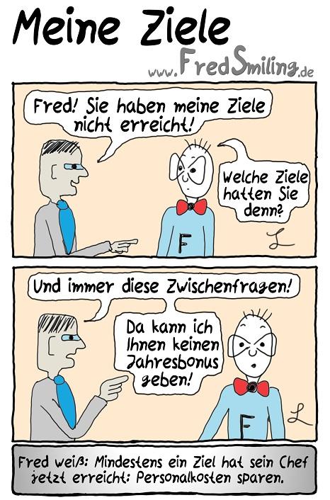 FredSmiling Comic Spass meine-ziele