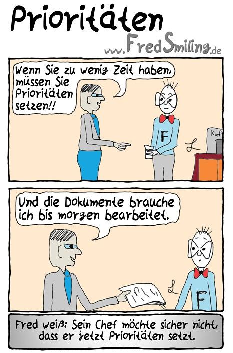FredSmiling Comic Spass prioritaeten