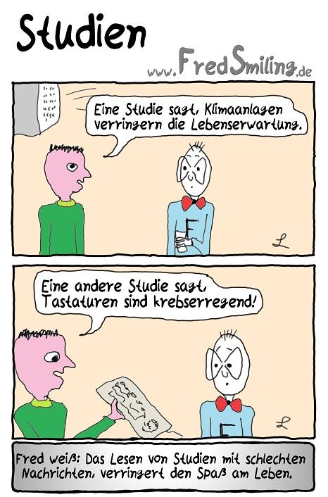 FredSmiling Comic Spass studien