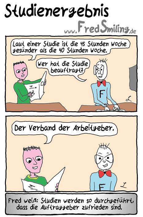 FredSmiling Comic Spass studienergebnis