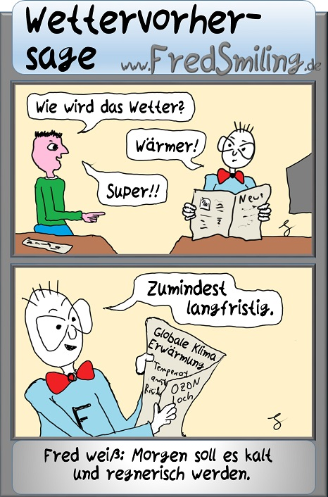 FredSmiling wettervorhersage