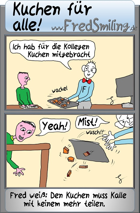 Fredsmiling Kuchen Fuer Alle Fredsmiling Comics