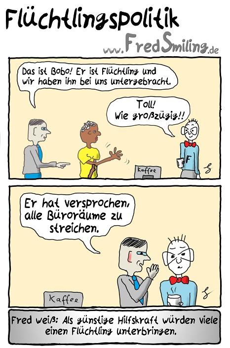 FredSmiling fluechtlingspolitik