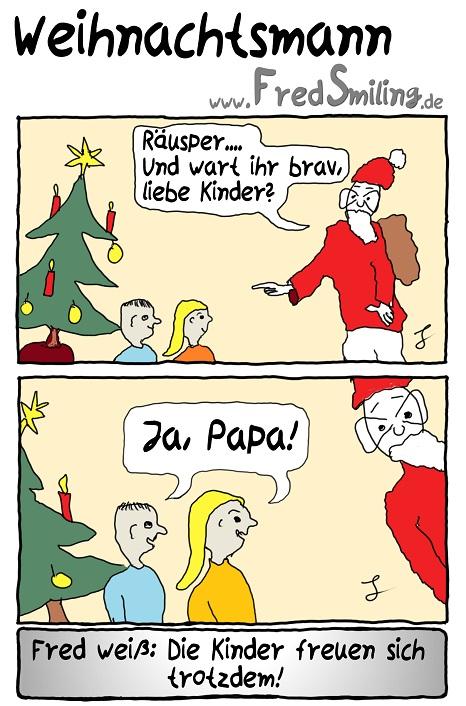 FredSmiling weihnachtsmann