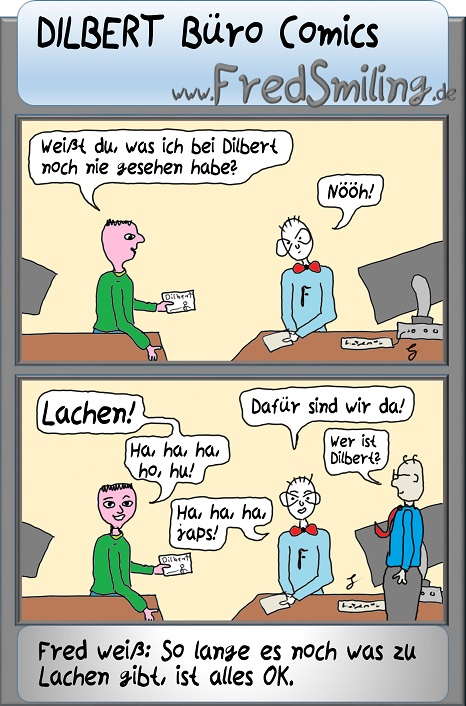 FredSmiling dilbert-buero-comics