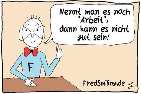 FredSmiling arbeit