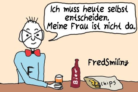 FredSmiling selbst-entscheiden