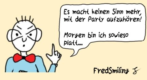 FredSmiling party-feiern